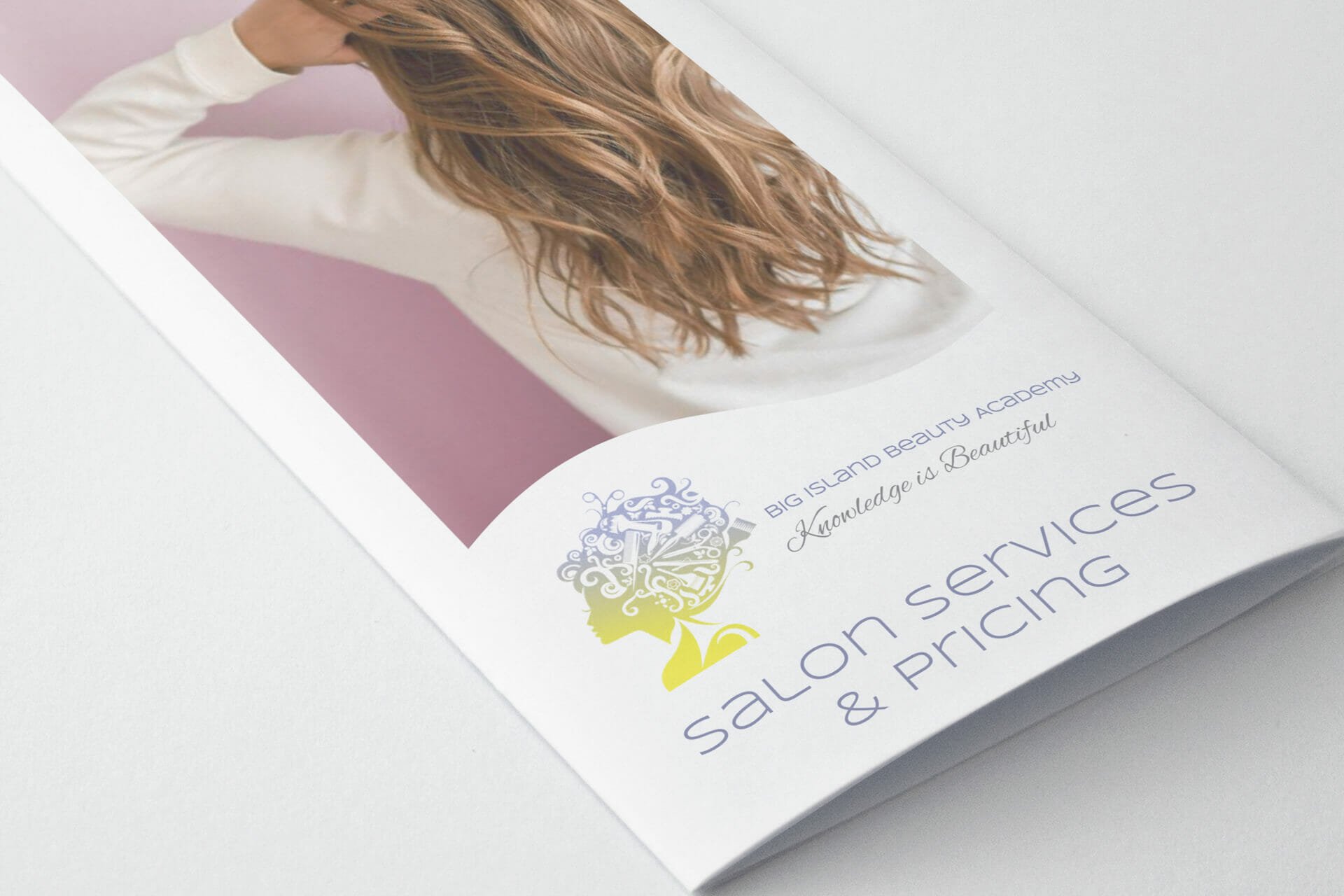 Big Island Beauty Academy — Tri-Fold Brochure