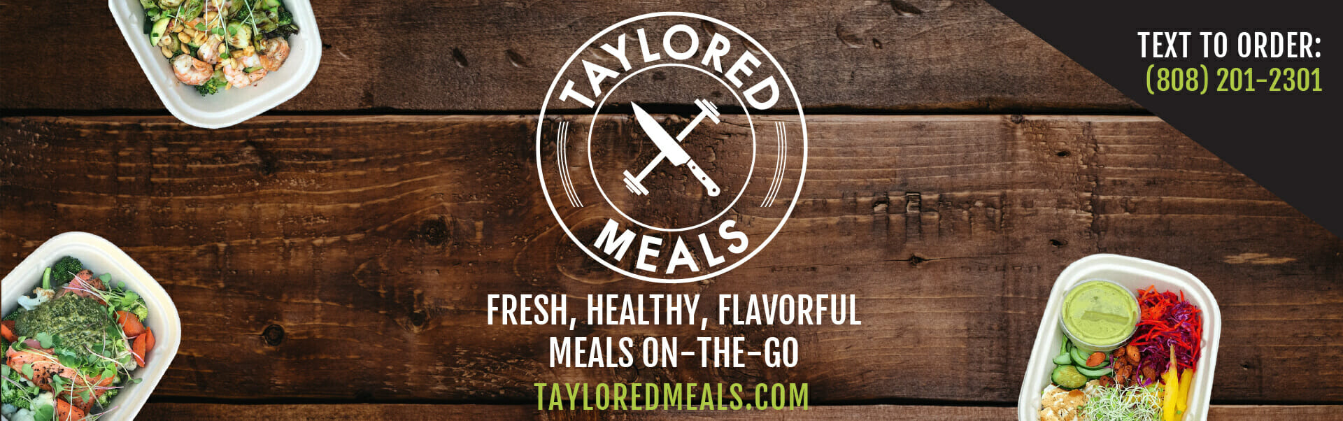 Taylored Meals — Event Banner