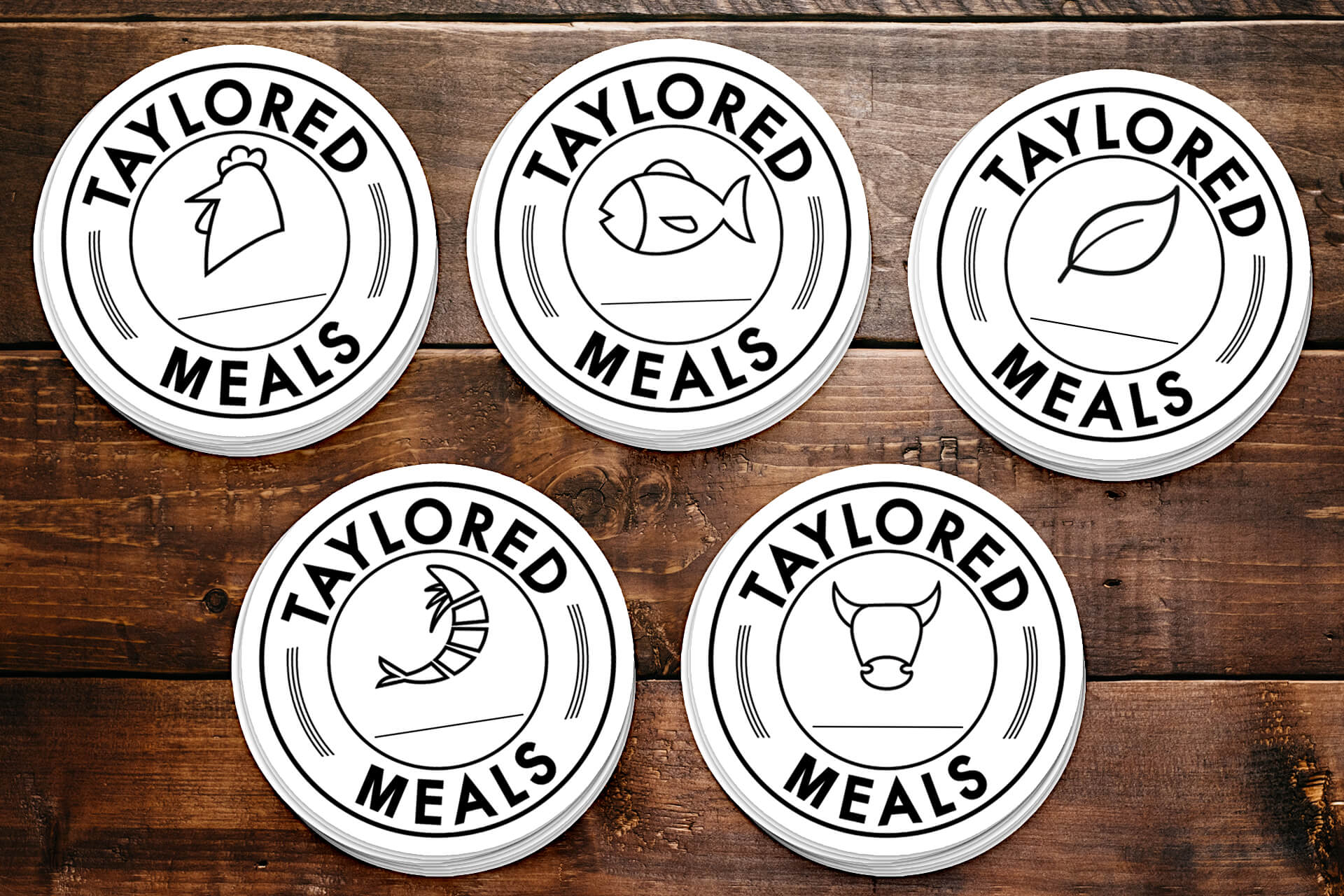 Taylored Meals — Stickers