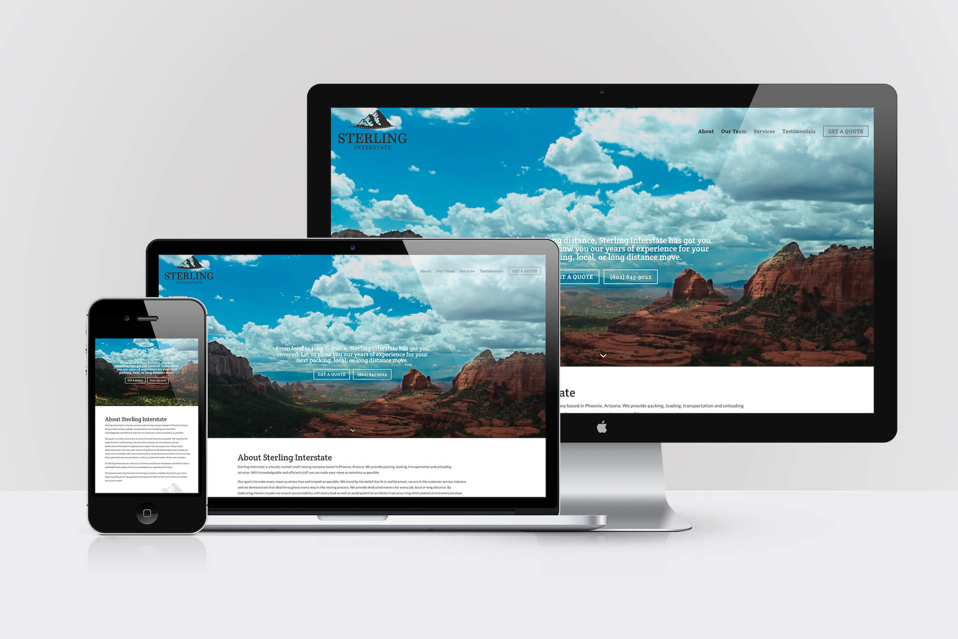 Sterling Interstate — Responsive Website Design