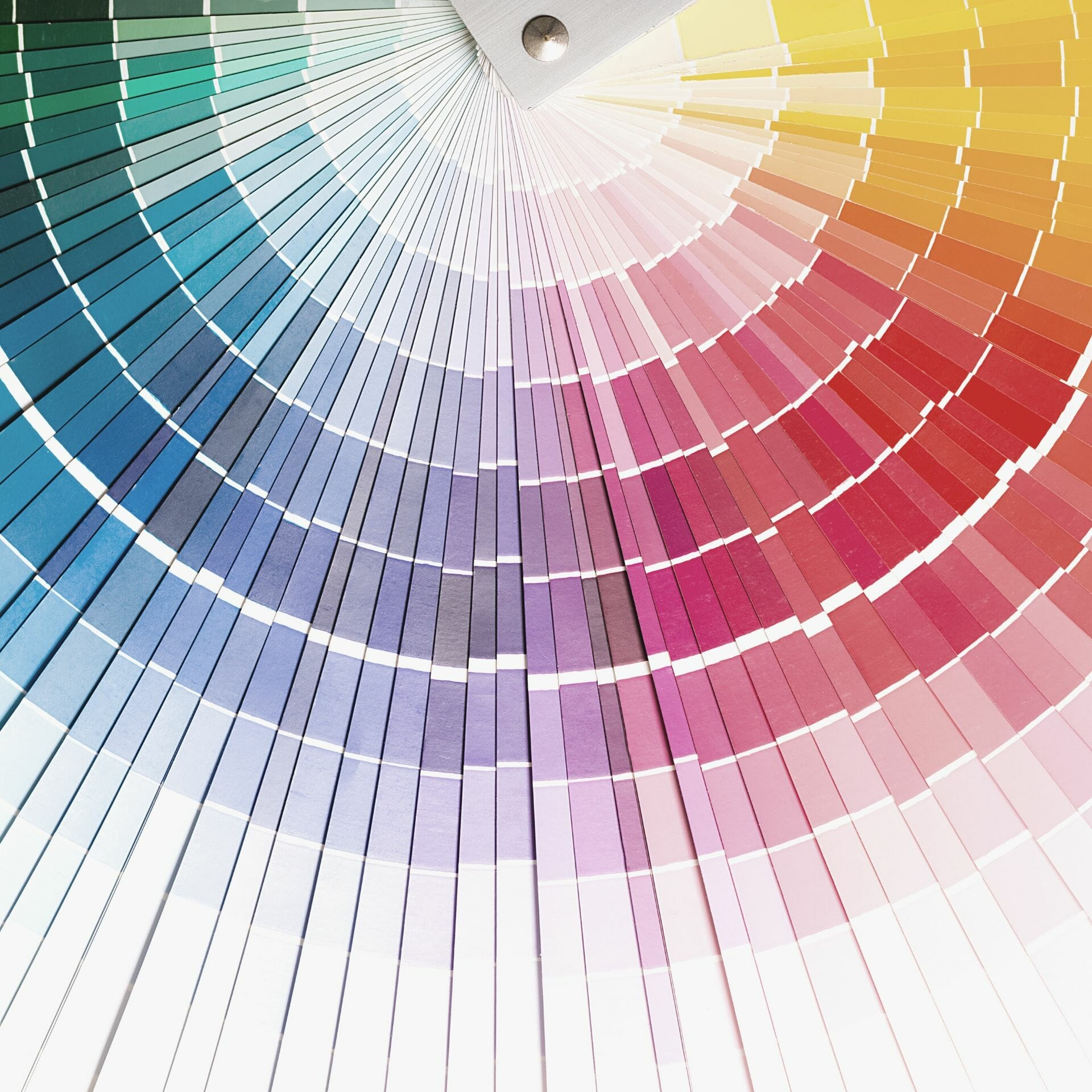 brand colors: rainbow color wheel