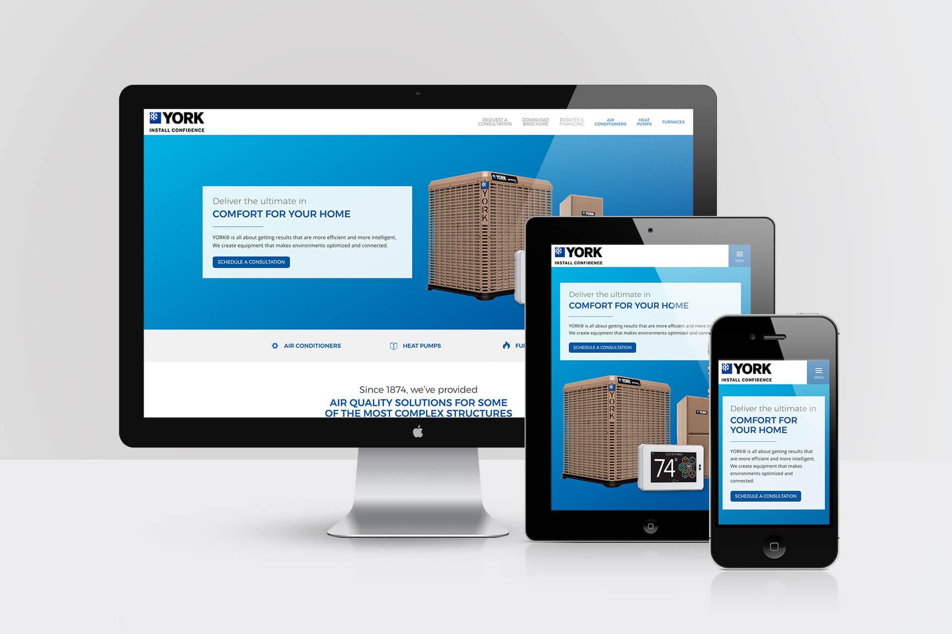 York Colorado — Responsive Website Design